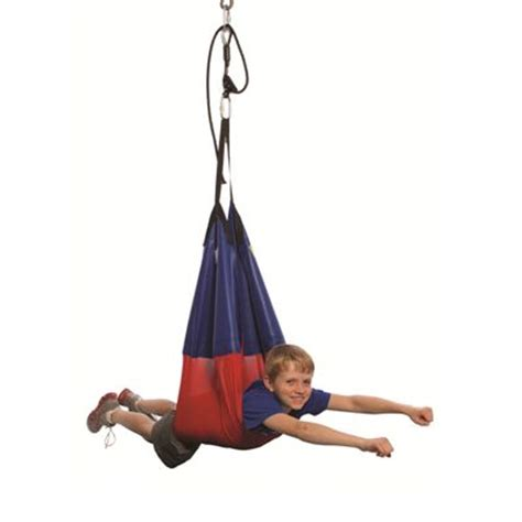 hammock swings for special needs the sling swing provides stimulation in a prone or seated