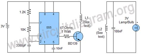 wireless power circuit diagram wireless power transfer project circuit diagram