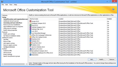 office 2013 templates using the office 2013 microsoft office customization tool