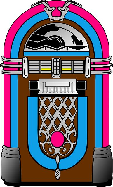 jukebox clipart free vector graphic jukebox blue pink choice