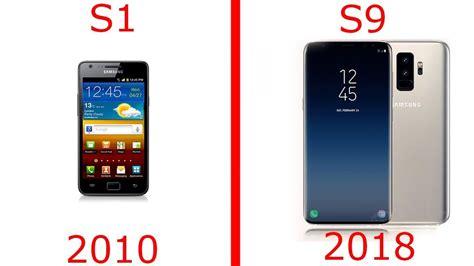 Samsung Galaxy S8 Dan S5 todos los samsung galaxy s evolucion s1 s2 s3 s4 s5 s6 s7 s8 s9