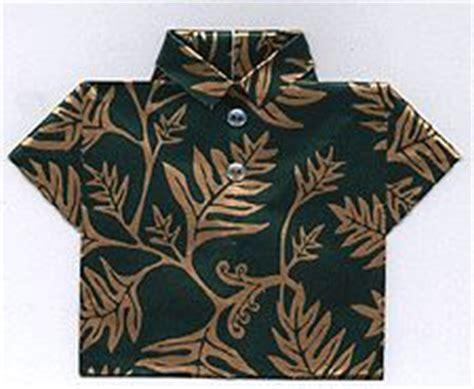 Origami Hawaiian Shirt - 1000 images about hawaiian shirt cards on