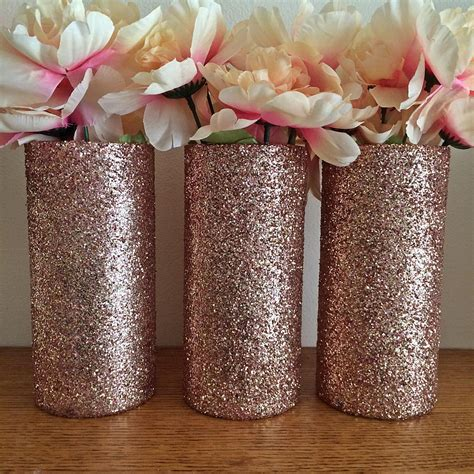 20 rose gold wedding decor rose gold vase wedding