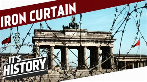 iron curtain history the iron curtain has descended and germany gets divided i