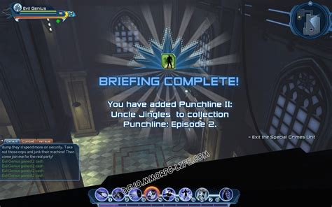 dcuo power armor integration circuits punchline episode 2 dc universe fansite