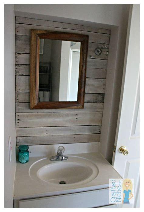 plank wall bathroom 17 best ideas about plank wall bathroom on pinterest
