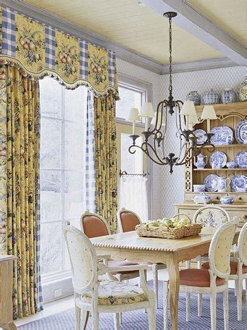 Country Dining Room Curtains Cottage Decorating Ideas On Pinterest Toile Country Decor And Slipcovers