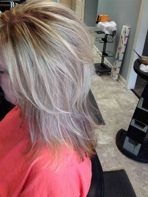 getting lowlioghts and highlights together how to do low lights on platinum blonde hair