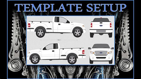 Free Vehicle Templates For Car Wraps