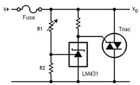 crowbar diode wiki crowbar circuit