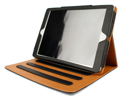 A1474 Black executive black and pu leather stand for apple