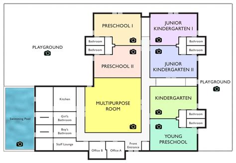 nursery facility layout good beginnings school virginia cus facility