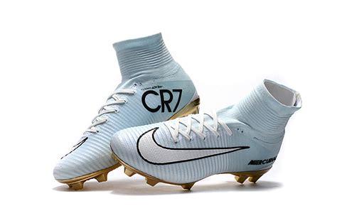 light blue football cleats cr7 outdoor soccer cleats boots fg size 35 45 light blue