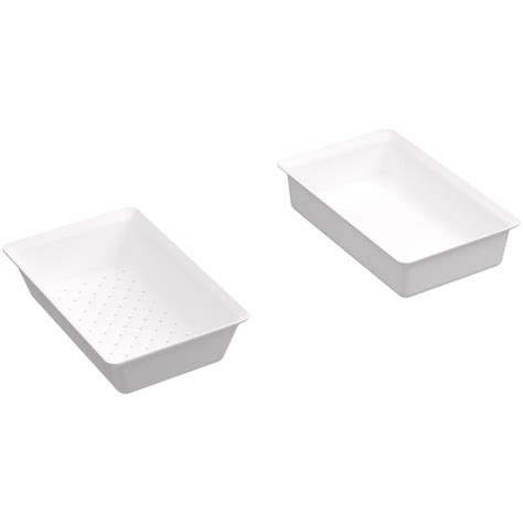 kohler sink accessories home depot amerimax home products catch a raindrop 3 in x 4 in