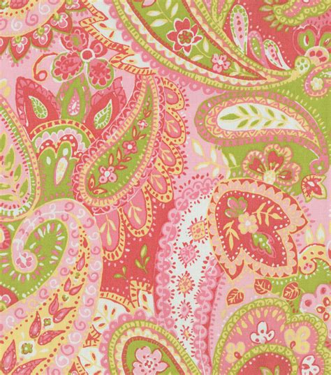 home decor fabric home decor print fabric pkaufmann gypsy watermelon jo ann
