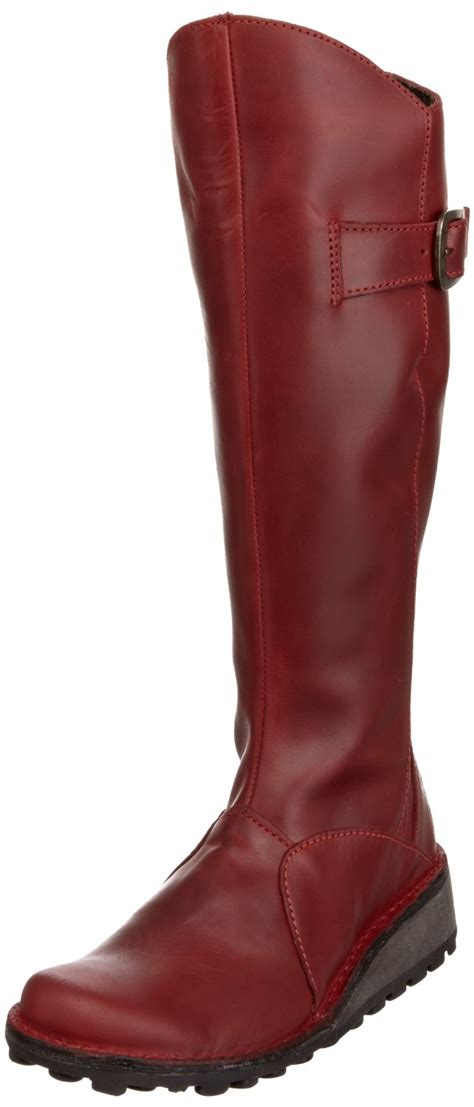 fly womens mol new leather boots ebay