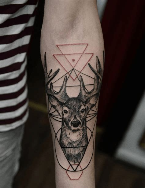 geometric tattoo vorlagen deer geometric tattoo google search geometric tattoo