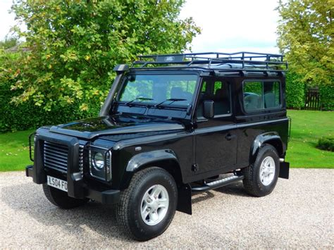 used land rover defender used java black land rover defender for sale essex