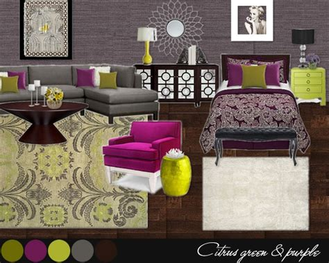 purple grey yellow bedroom so loving grey yellow green and purple pink night