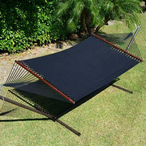 caribbean hammocks jumbo black by the caribbean