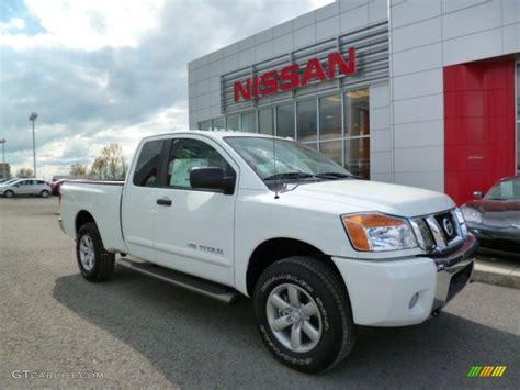 2014 Nissan Titan Sv by 2014 Glacier White Nissan Titan Sv King Cab 4x4 93039163
