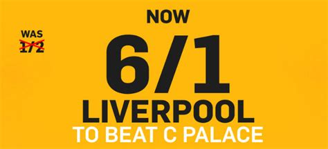 beat the odds open a successful microbrewery today liverpool v crystal palace 6 1 enhanced odds on liverpool