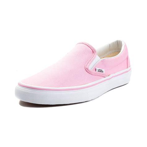So192 Nike Slip On Pink Green vans skate shoes pink