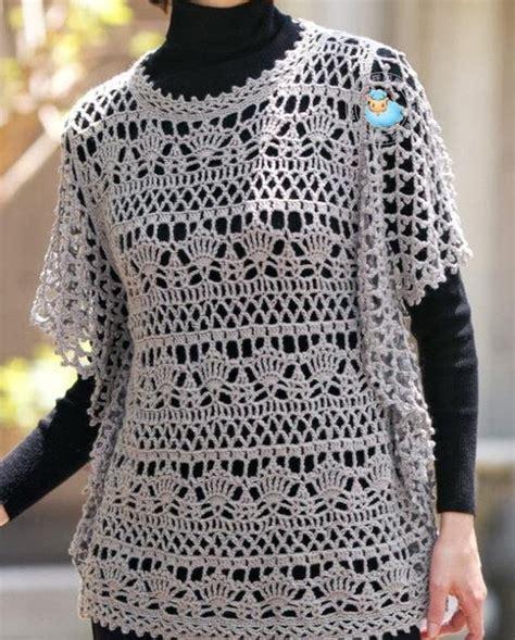 crochet pattern and design wonderful tunic for women