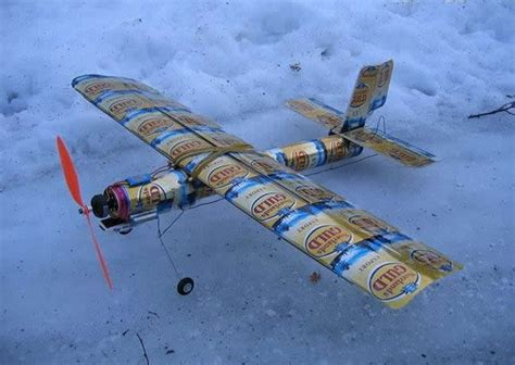 How To Make A Model Airplane Out Of Paper - how to build a model airplane out of cans
