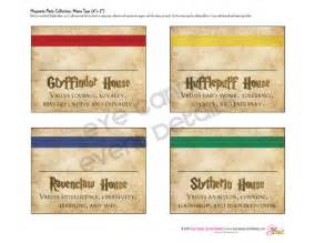 harry potter inspired hogwarts printable name tags