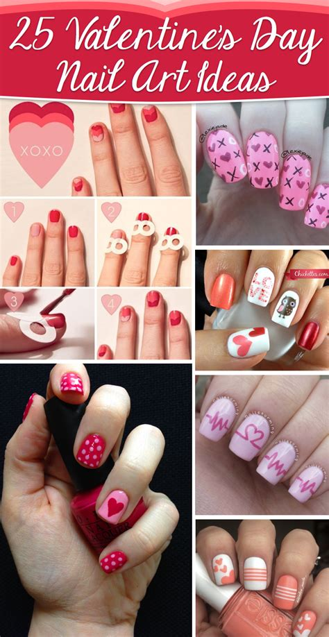 valentines day nail 25 s day nail ideas working as a wonderful