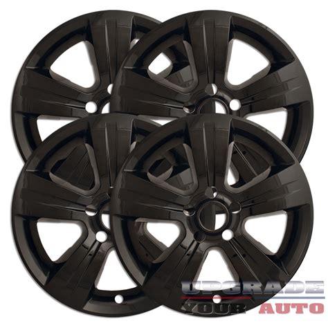 Jeep Patriot Rims Black 17 Gloss Black Wheel Skin Covers For 2011 2014 Jeep