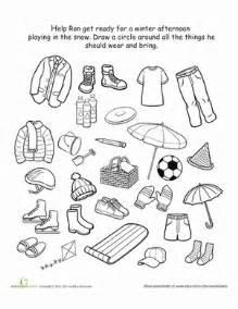 kindergarten winter worksheets amp free printables