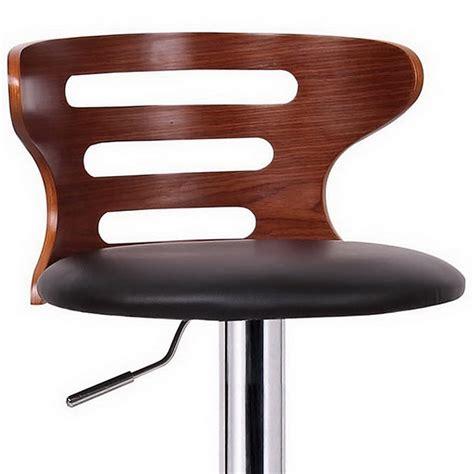 Molded Plywood Bar Stool by Buell Swivel Bar Stool Molded Plywood Black Seat Cut