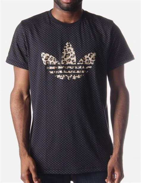 Leopard Print T Shirt Mens by Leopard Leaf Print S T Shirt Black White