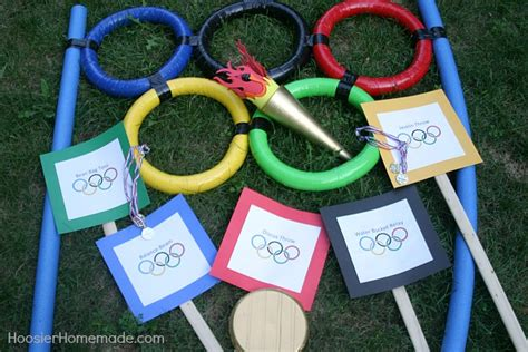 backyard olympics ideas backyard olympic games hoosier homemade