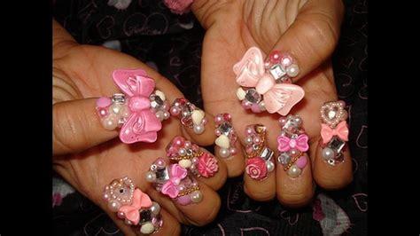 imagenes decorados de uñas con flores uas bonitas decoradas latest ms de ideas increbles sobre