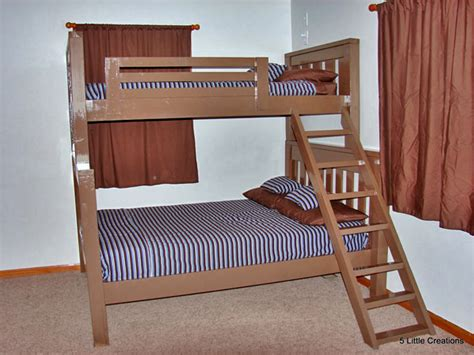 full over full bunk bed plans bunk bed plans twin over full bed plans diy blueprints