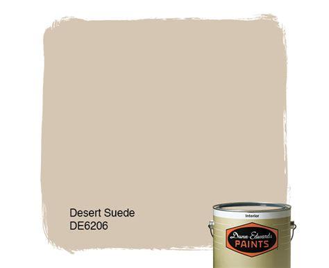 desert suede de6206 dunn edwards paints