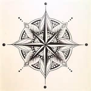 Mandala compass tattoo vintage compass tattoo and compass design