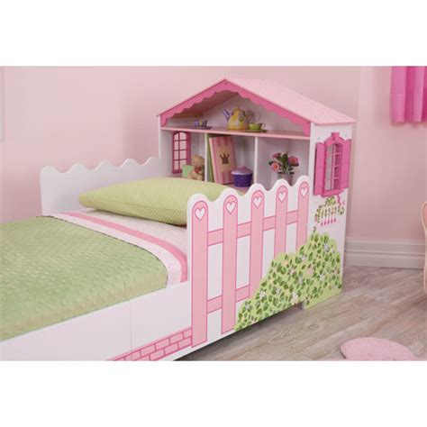 kidkraft dollhouse toddler bed kidkraft dollhouse toddler bed reviews wayfair