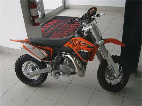 Used Ktm 50 2008 Ktm Sx 50 Mini Used 2008 Sx 50 Mini At Motorcyclist