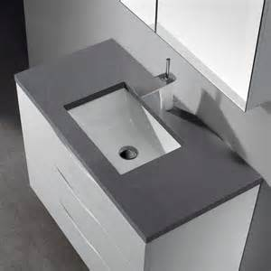Cheap Kitchen Sinks And Faucets Bolano Glossy White 36 Modern Single Sink Bathroom Vanity
