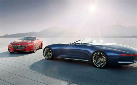 maubach car vision mercedes maybach 6 coupe cabriolet 4k wallpapers