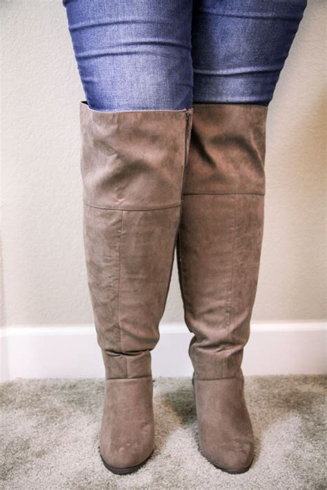 the knee boots wide calf the knee boots for wide calves yu boots