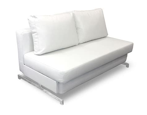 contemporary leather sofa bed white leather queen sleeper sofa impressive white leather