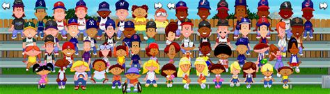 Backyard Baseball 2003 Players by Hdweb Wilson Baseball Filthy And