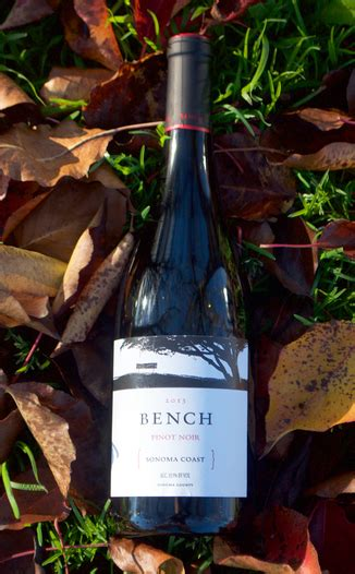 bench winery sonoma bench wines 2013 sonoma coast pinot noir the wine spies