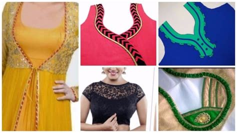 Different Types Of Home Designs kurta neck design cutting and stitching simple craft ideas