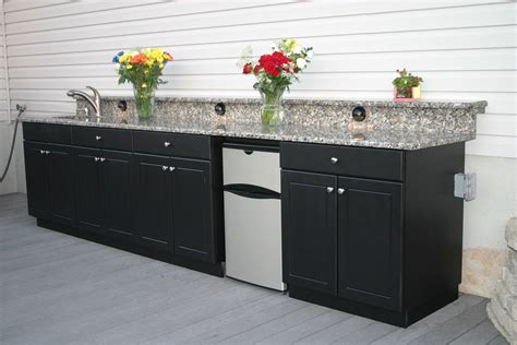 exterior kitchen cabinets smaller outdoor kitchens soleic outdoor kitchens